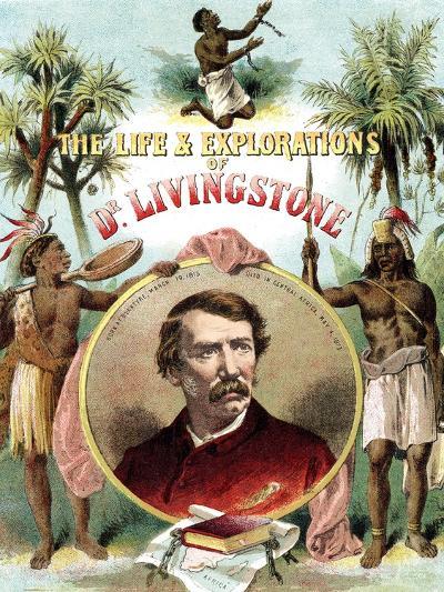 David Livingstone, Scottish Missionary and Explorer of Africa, C1875--Giclee Print