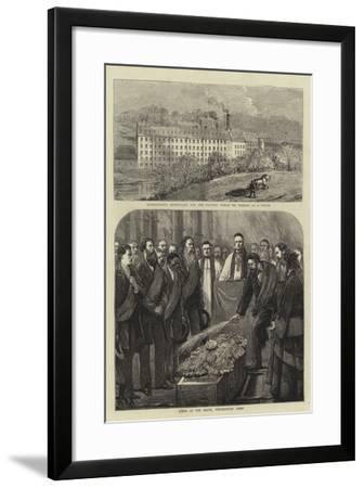 David Livingstone-Joseph Nash-Framed Giclee Print