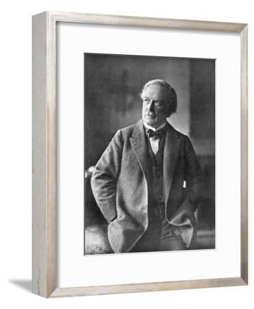 David Lloyd George, British Liberal Statesman, C1918--Framed Giclee Print