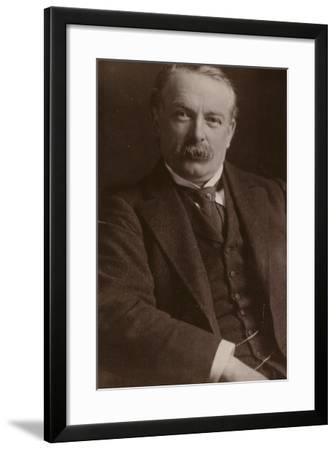 David Lloyd George--Framed Photographic Print