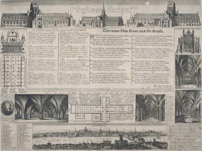 St Paul's Cathedral, City of London, 1725