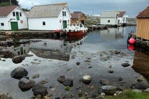 Harbour, Rott Island, Off Stavanger, Norway, Scandinavia, Europe by David Lomax