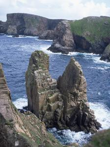 Tory Island, County Donegal, Ulster, Eire (Republic of Ireland) by David Lomax
