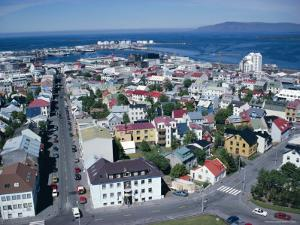 View Over the City, Reykjavik, Iceland, Polar Regions by David Lomax