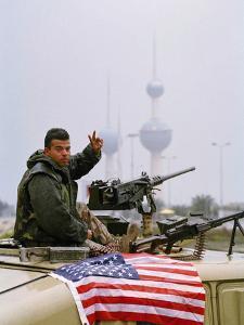 1991 Gulf War Kuwait Liberation by David Longstreath