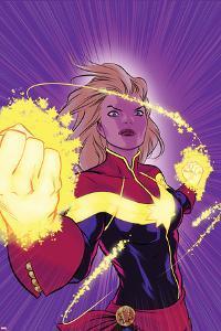 Captain Marvel No. 12 Cover by David Lopez