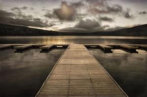 Lake Pier by David Lorenz Winston