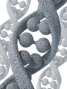 DNA Molecule, Artwork by David Mack