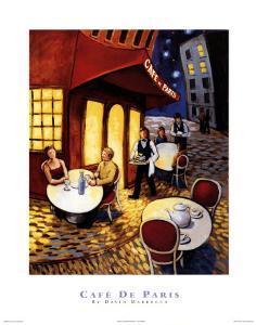 Cafe De Paris by David Marrocco