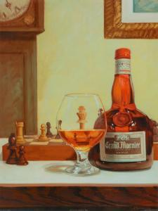 Chess and a Cordial by David Marrocco