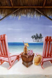 Island Retreat by David Marrocco