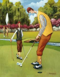 Putting for Birdie by David Marrocco