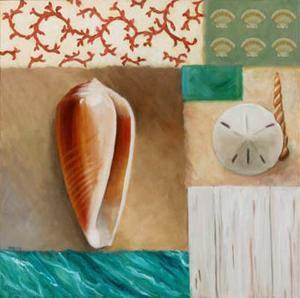 Shell Collage I by David Marrocco