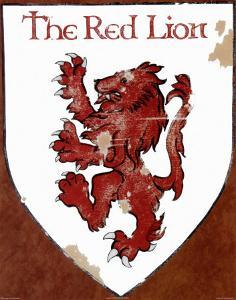 The Red Lion by David Marrocco
