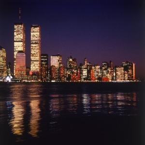 World Trade Center, Night by David Marshall