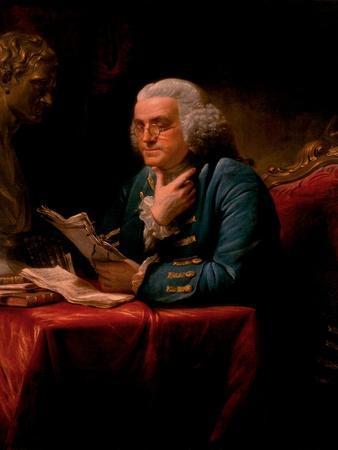 Portrait of Benjamin Franklin, 1767