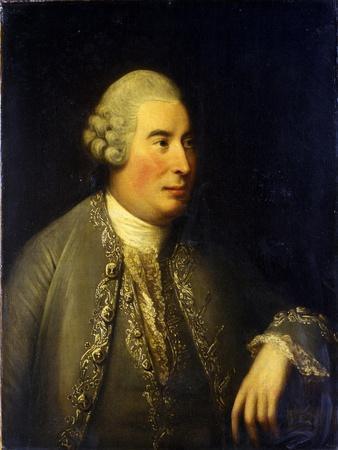 Portrait of David Hume