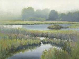 Morning at Edmonds Marsh by David Marty