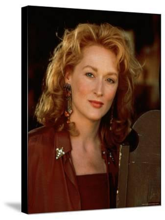 """Actress Meryl Streep at Film Premiere of Her """"Death Becomes Her"""""""