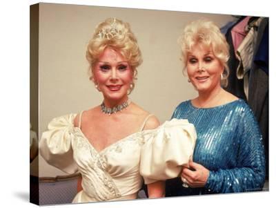 Actresses/Sisters Eva and Zsa Zsa Gabor