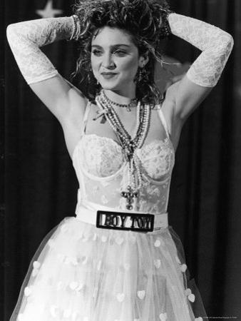 Madonna at 1st Annual MTV Video Music Awards, at Tavern on the Green