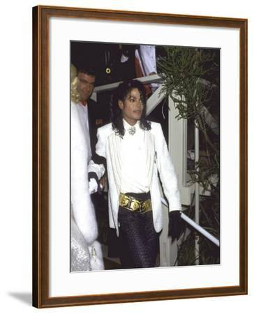 Michael Jackson Attending the Academy Awards