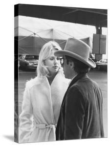 Peter Bogdanovich Speaking to Girlfriend, Former Playboy Playmate and Actress Dorothy Stratten by David Mcgough