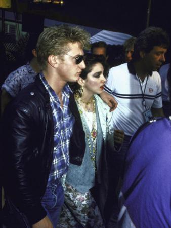 Singer Madonna and Husband, Actor Sean Penn