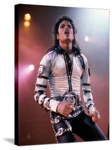 Singer Michael Jackson Performing by David Mcgough