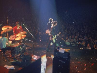The Band the Sex Pistols Performing at their Last Show