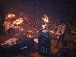 The Band the Sex Pistols Performing at their Last Show by David Mcgough