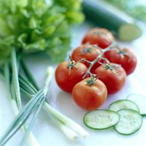 Salad Vegetables by David Munns
