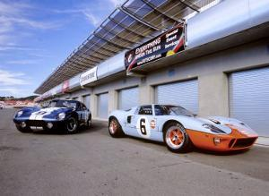 1964 Shelby Daytona Coupe & 1969 Ford GT-40 by David Newhardt