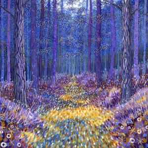Blue Forest 2, 2012 by David Newton