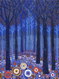 Blue Forest, 2011, by David Newton