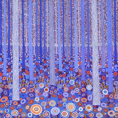 Blue Orange Forest, 2015