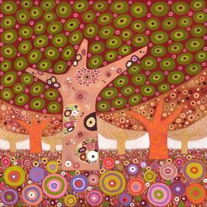 Frogspawn Trees, 2010 by David Newton