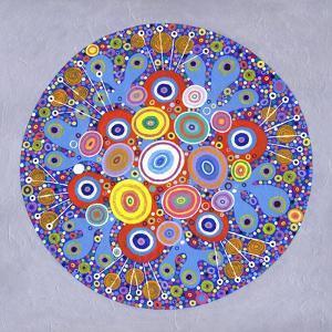 Mandala 1, 2016 by David Newton