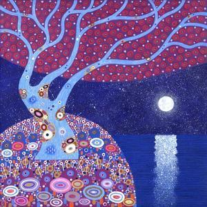 Midnight Moon, 2016 by David Newton