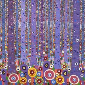 Purple Forest 1, 2012 by David Newton