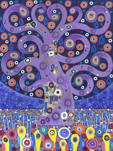 The Peacock Tree, 2011 by David Newton