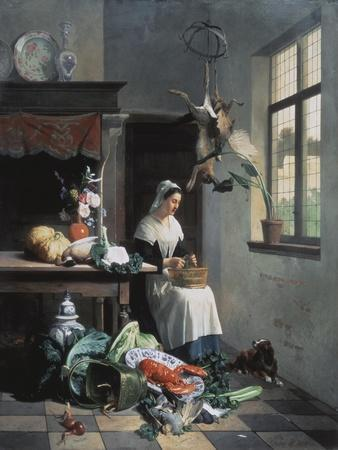 A Maid in the Kitchen