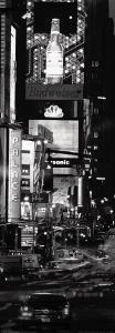 Seventh Avenue and Times Square at Night, New York by David Noton