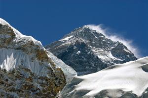 Mount Everest, Nepal by David Noyes