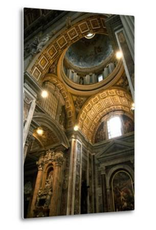 Vatican City, Rome, Italy, Ceiling Inside Saint Peter's Basilica