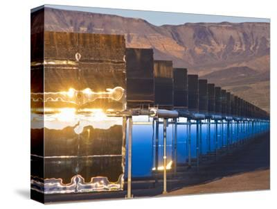 Nevada Solar One at Sunrise, USA