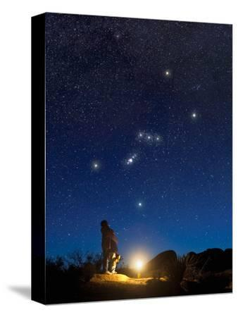 Star Gazers Observing Orion