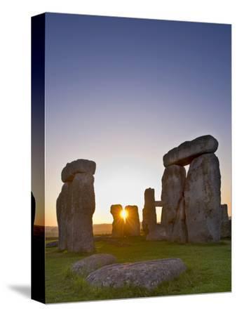 Stonehenge at Sunrise Near the Summer Solstice, Salisbury Plain, England