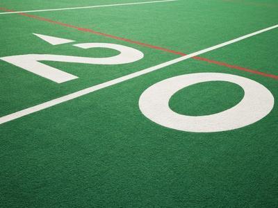 Twenty Yard Maker on Football Field