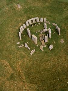 Aerial View of Stonehenge by David Parker